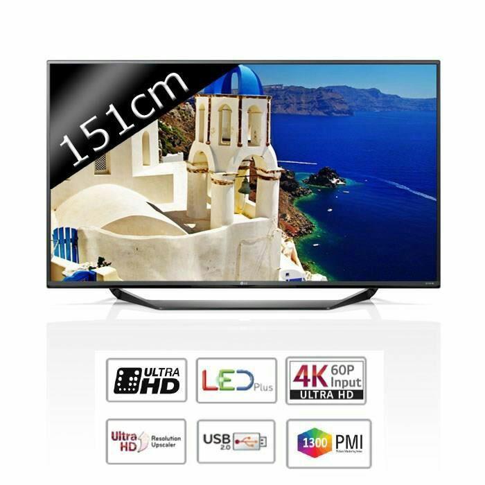 "TV 60"" LG 60UF675V - Ultra HD  - 1300 Hz"