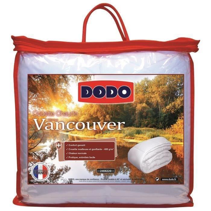 Couette chaude Dodo Vancouver 220 x 240 cm
