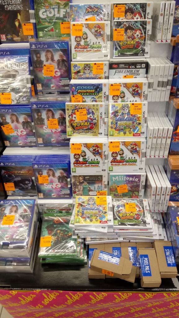 Sélection de jeux 3DS en promotion - Taverny (95)