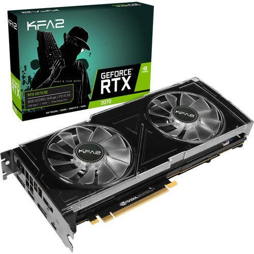 Carte Graphique KFA2 GeForce RTX 2070 OC, 8 Go + jeu offert