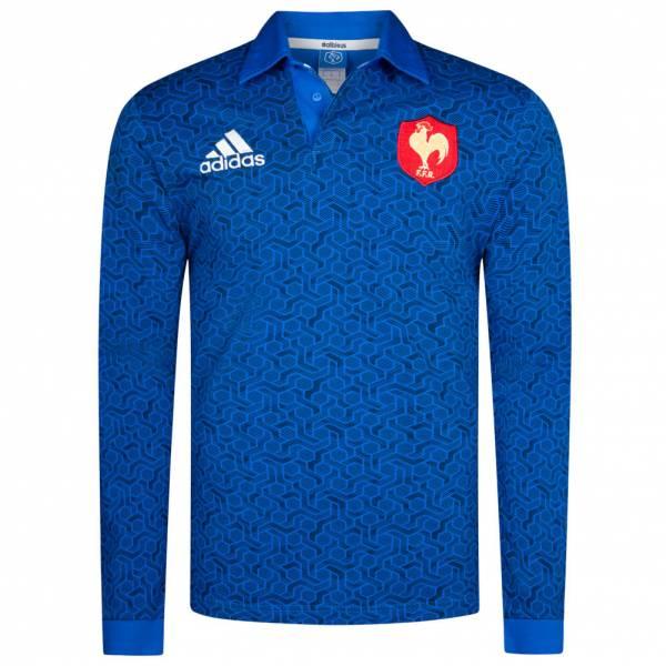 Maillot de rugby adidas XV de France FFR Jersey Supporter 18 - du XS au XL