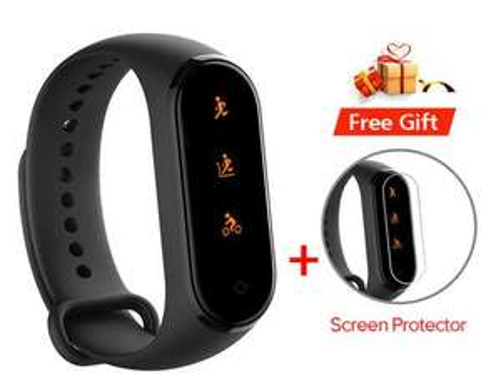 Bracelet connecté Xiaomi Mi Band 4 + 1 protection d'écran - Bluetooth 5.0, noir, Version Chinoise
