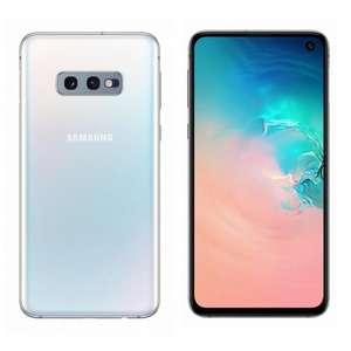 """Smartphone 5.8"""" Samsung Galaxy S10e - full HD+, Exynos 9820, 6 Go de RAM, 128 Go, blanc, Dual Sim, Blanc"""