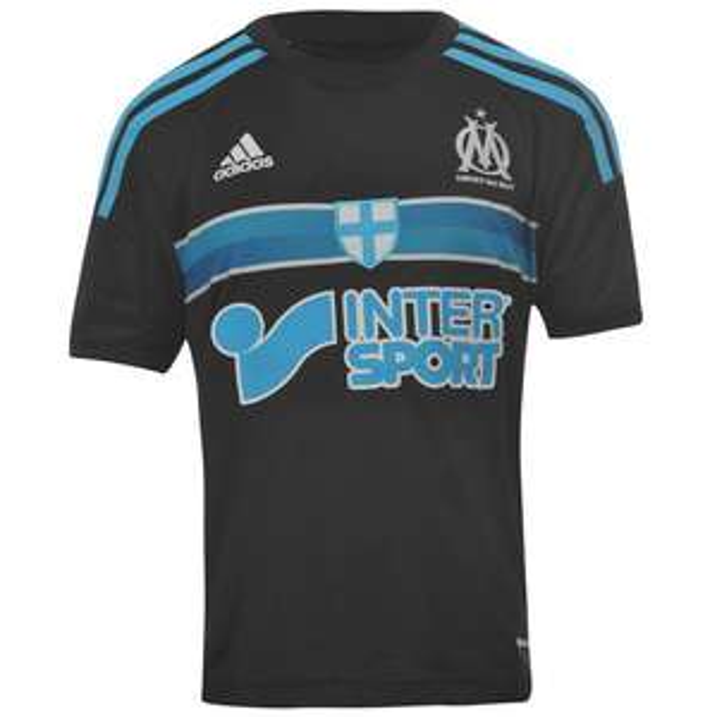 Maillot de football Junior Adidas - Olympique Marseille 3rd 2014-2015 - Tailles 9/10 ans et 15 ans