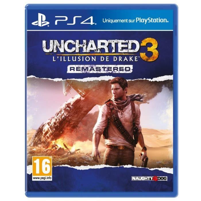 Sélection de jeux vidéo en promotion - Ex: Uncharted 3: Drake's Deception sur PS4 - Olivet (45)