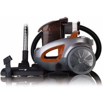 Aspirateur sans sac FAGOR VCE-171 - 1600W - 2.2L - 80dB - Orange et Argent