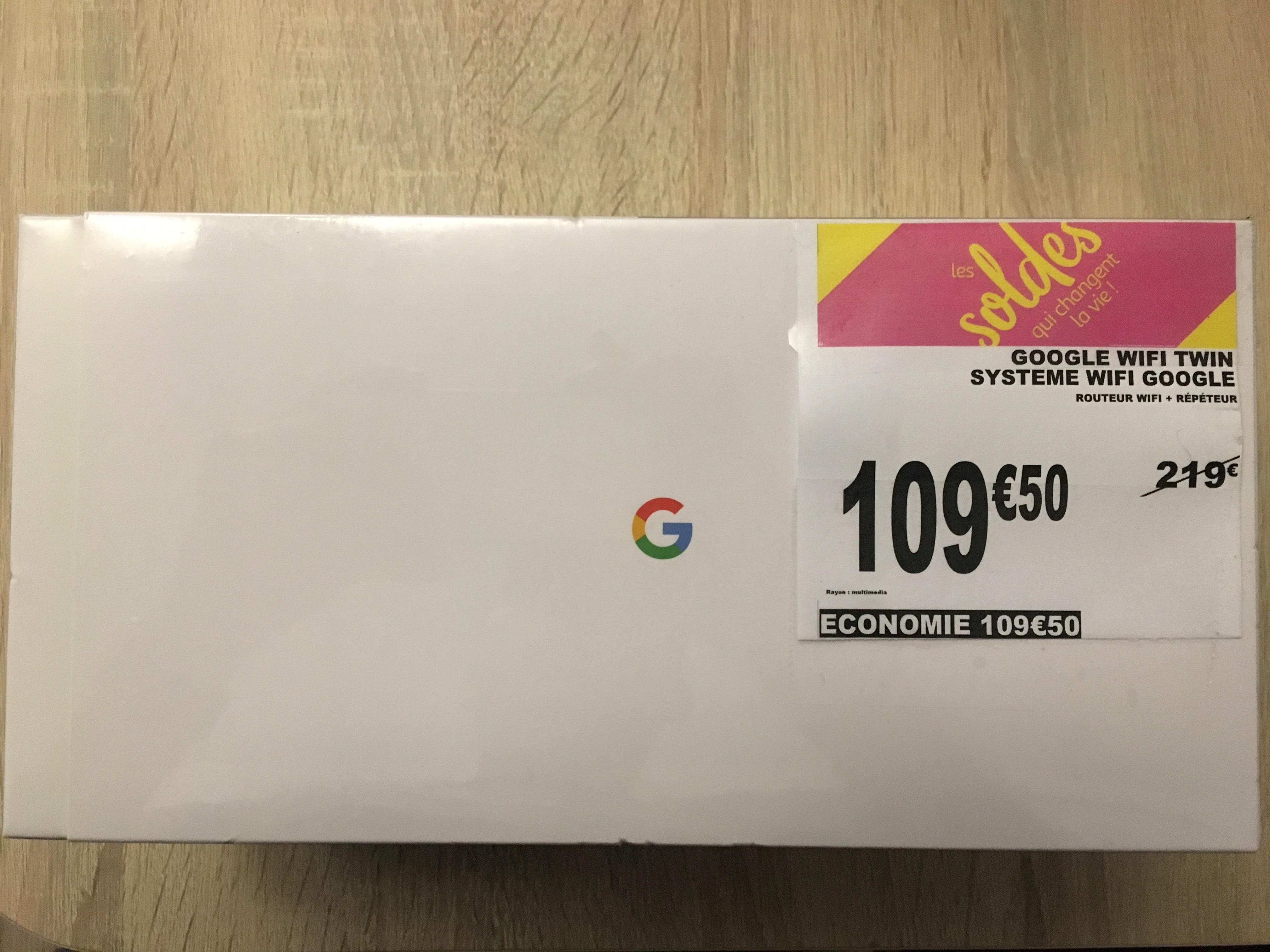 Pack de 2 Routeurs Wi-Fi Google Twin - Martigues (13)