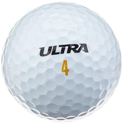 Lot de 24 Balles de golf Wilson Ultra Ultdis -  Blanc