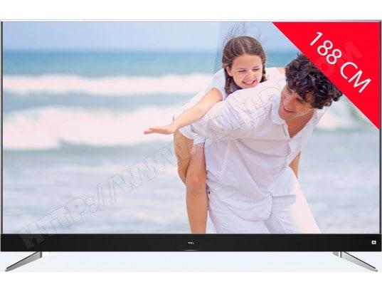 """TV 75"""" TCL U75C7026 - 4K UHD, HDR (via ODR de 350€)"""