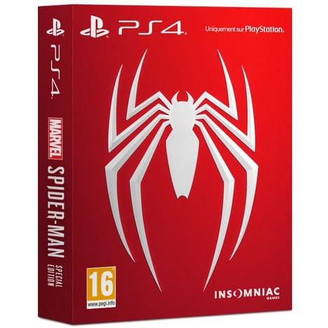 Marvel's Spider-Man Spécial Édition sur PS4