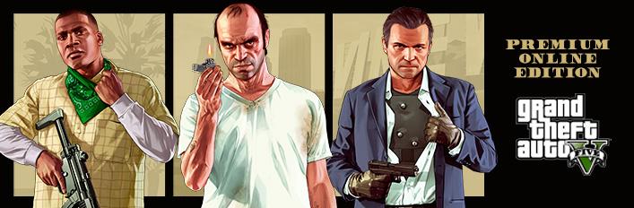 Grand Theft Auto V: Premium Online Edition sur PC (Dématérialisé)
