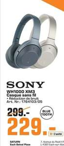 Casque sans-fil Sony WH1000-XM3 (Frontaliers Luxembourg)