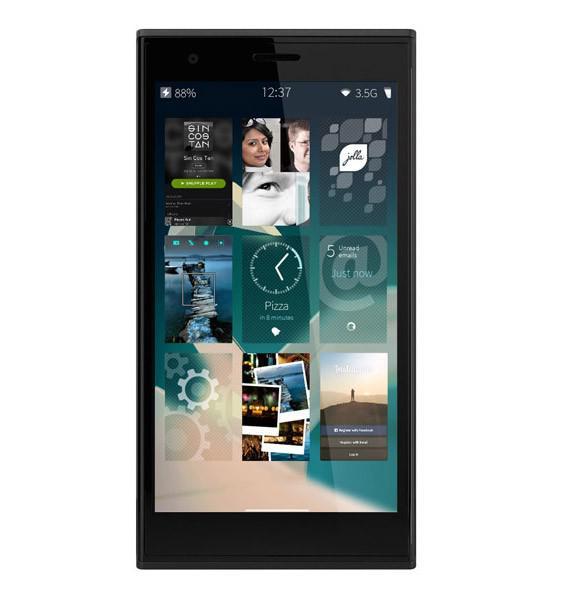 """Smartphone 4.5"""" Jolla - 1 Go de Ram, 16 Go"""