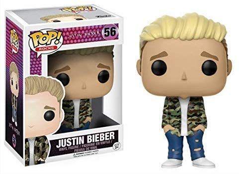 Figurine Funko Pop Music Vinyl Rocks - Justin Bieber + 0.29€ en SuperPoints