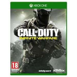 Call of Duty: Infinite Warfare sur Xbox One (Frais de port inclus - vendeur tiers)