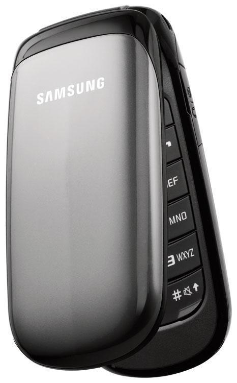 Téléphone à clapet Samsung E1150 Gris -  Reconditionné, avec mobicarte