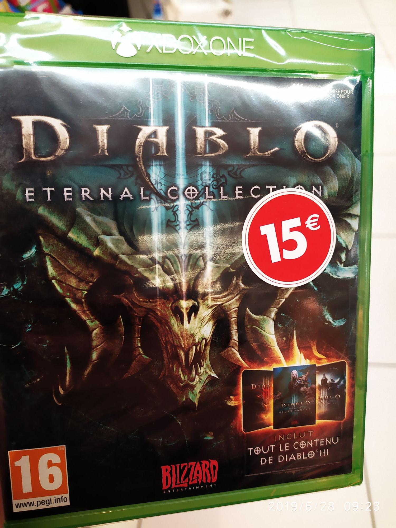 Jeu Diablo III Eternal Collection sur Xbox One (Flers-en-Escrebieux 59)