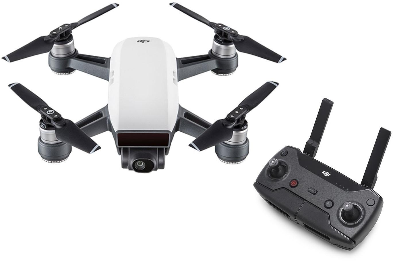 Drone quadricoptère DJI Spark + télécommande (+ 19€ en SuperPoints)