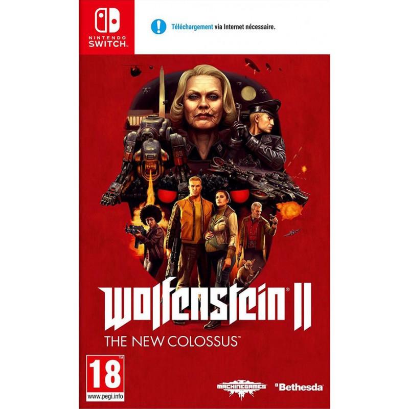 Wolfenstein II : The New Colossus sur Nintendo Switch