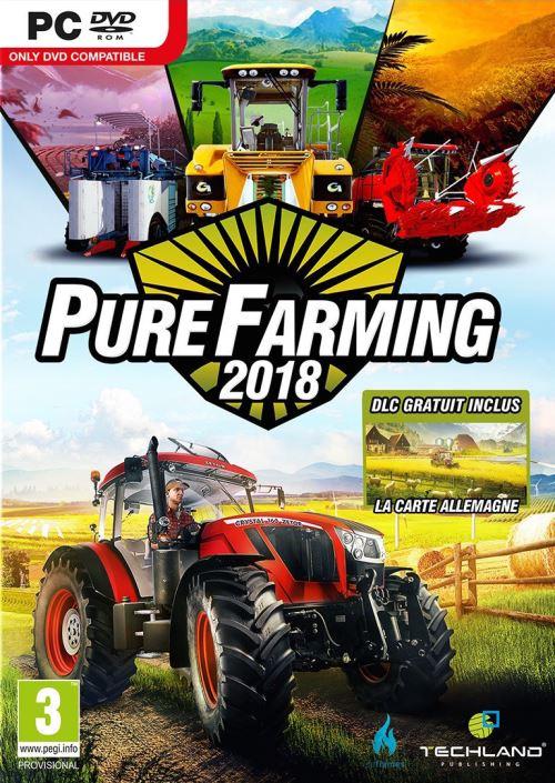 Pure Farming 2018 - Édition Days One sur PC + une boîte à meuh V2 + un porte-clés