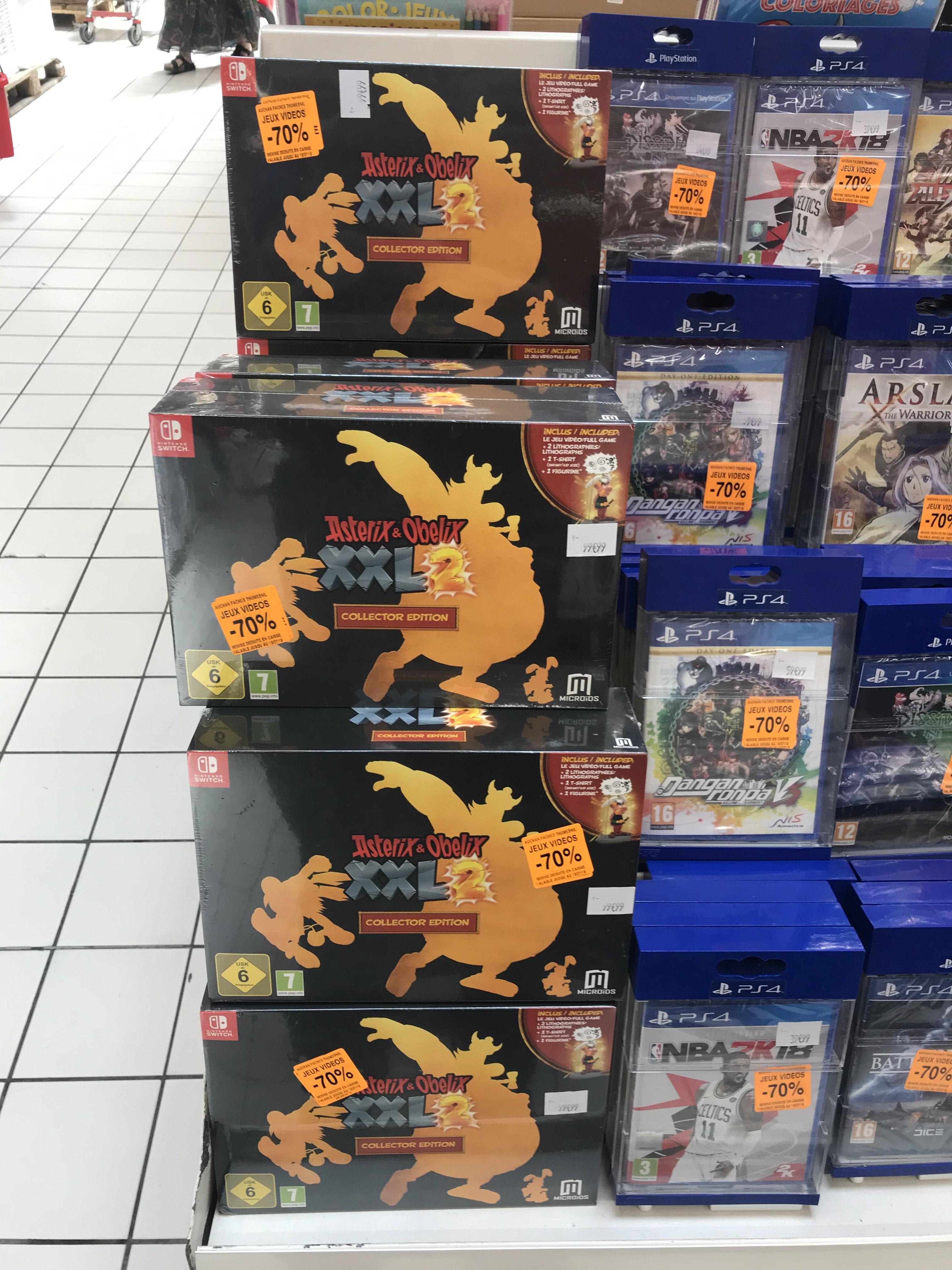 Sélection de jeux en promotion - Ex: Asterix & Obelix: XXL 2 (Remastered) - Édition Collector sur Switch - Faches-Thumesnil (59)
