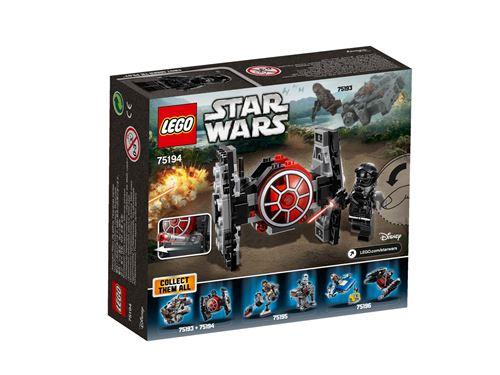 Jeu de construction Lego Star Wars 75194 - Microfighter Chasseur TIE du PremierOrdre