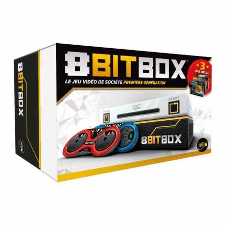 Console Jeu de société 8 bit box (jeudubazar.com)