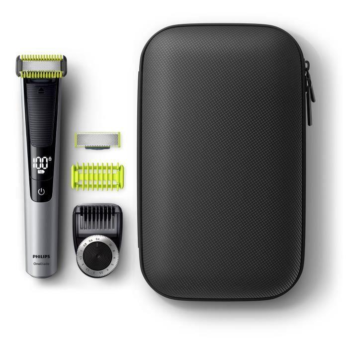 Tondeuse barbe et corps Philips OneBlade Pro QP6620/64 + lame pour le corp + trousse de voyage