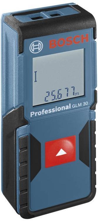 Télémètre Laser Bosch GLM 30 + Coffret de forets de perçage 7 pièces (Avec ODR 20€)