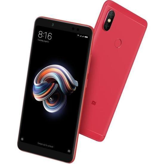 """Smartphone 5.99"""" Xiaomi Redmi Note 5 - 4 Go de RAM, 64 Go (via ODR de 40€)"""