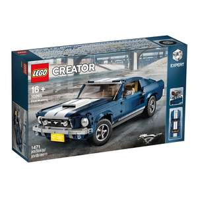 Jeu de construction Lego Creator (10265) - Ford Mustang 1960s (elcorteingles.es)