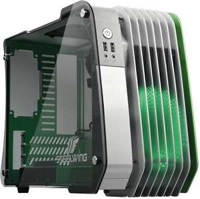 [Adhérents] Micro-boîtier ATX Enermax Steelwing - vert