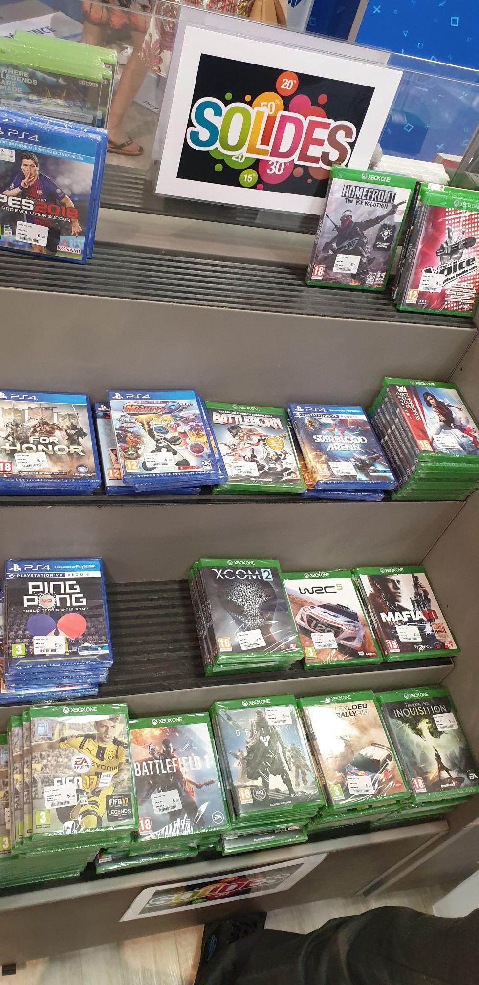 Sélection de jeux vidéo sur PS4 et Xbox One en promotion - Ex : For Honor sur PS4 - Bourgoin-Jallieu (38)