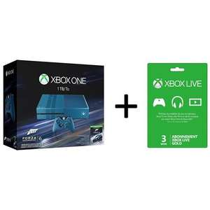 Console Microsoft Xbox One 1 To - édition collector + Forza Motorsport 6 + Abonnement Xbox Live Gold 3 Mois