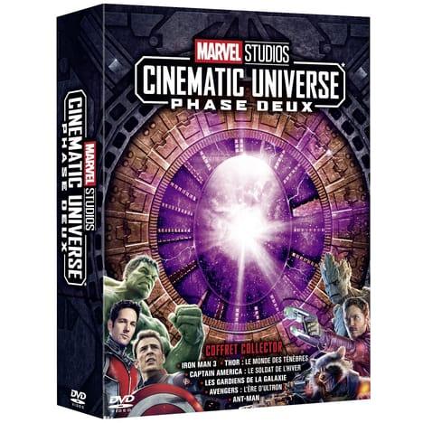 Sélection de Coffrets en promotion - Ex : Coffret DVD Marvel Studios Cinematic Universe : Phase Deux