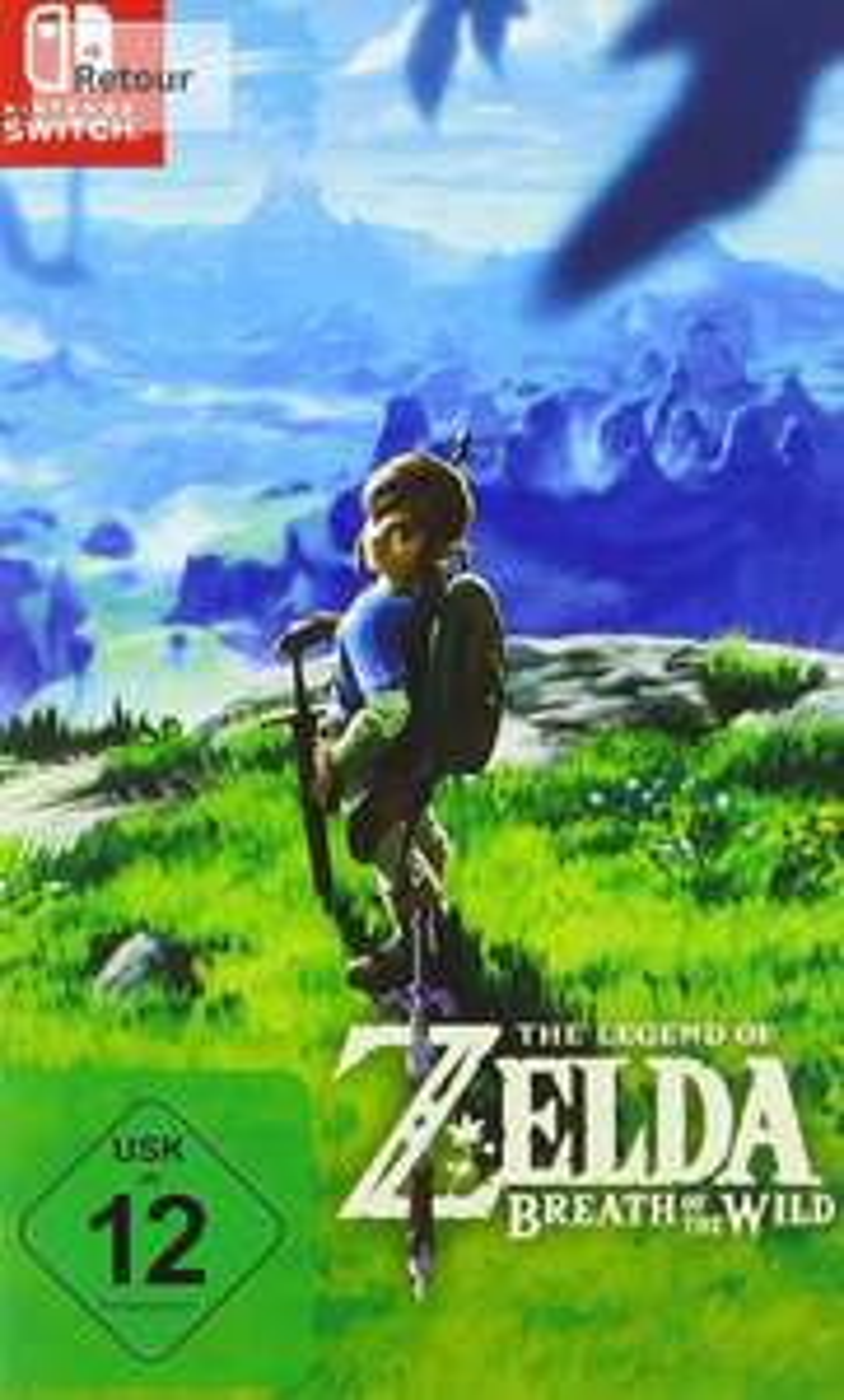 The Legend of Zelda Breath of the Wildsur Nintendo Switch (Import , jouable en français)