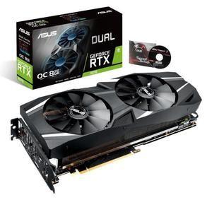 Carte graphique ASUS GeForce RTX 2070 Dual O8G -  8Go