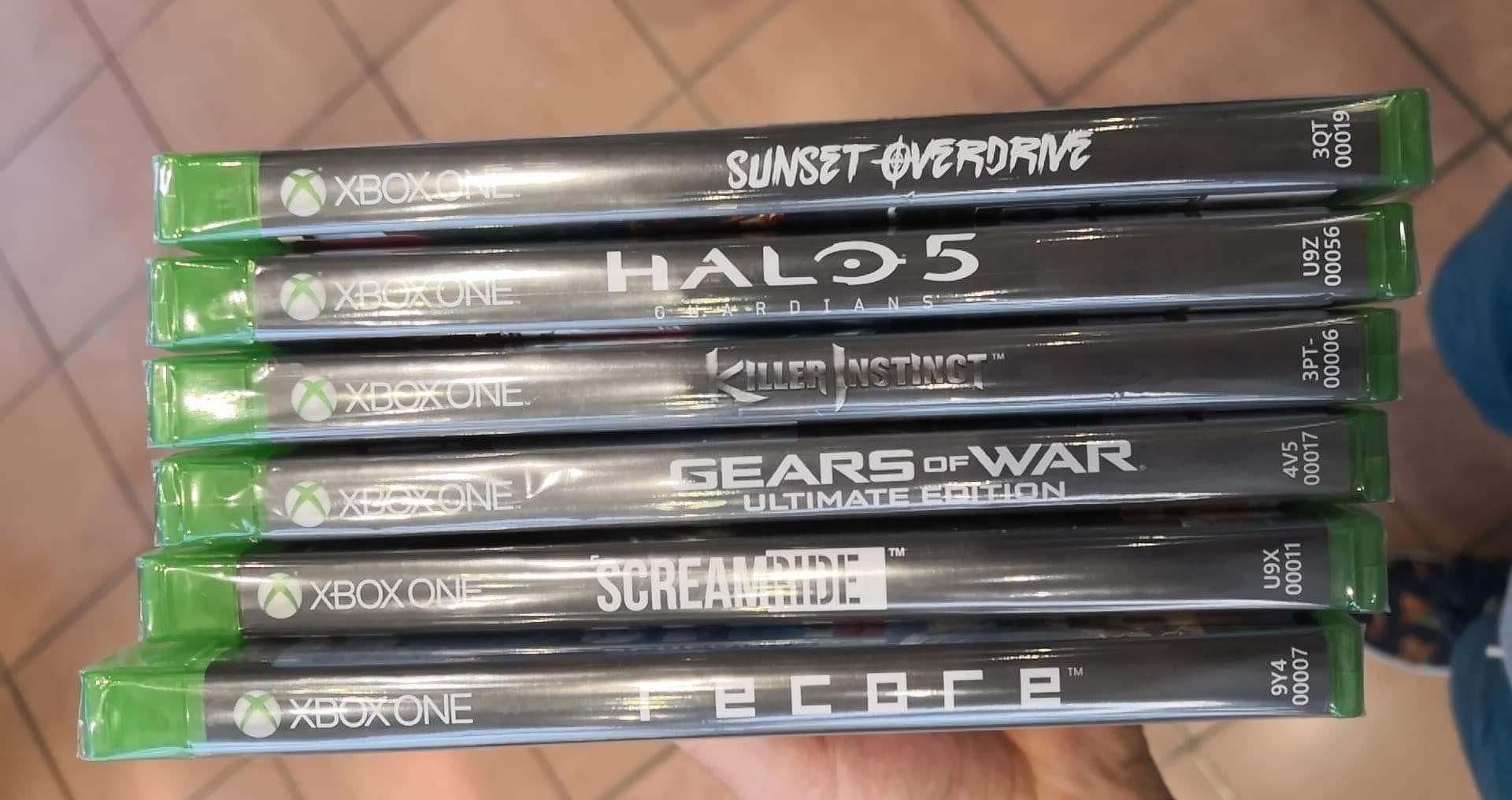 Sélection de jeux-vidéos pour Xbox One et PS4 à 5€ - Dizy (51)