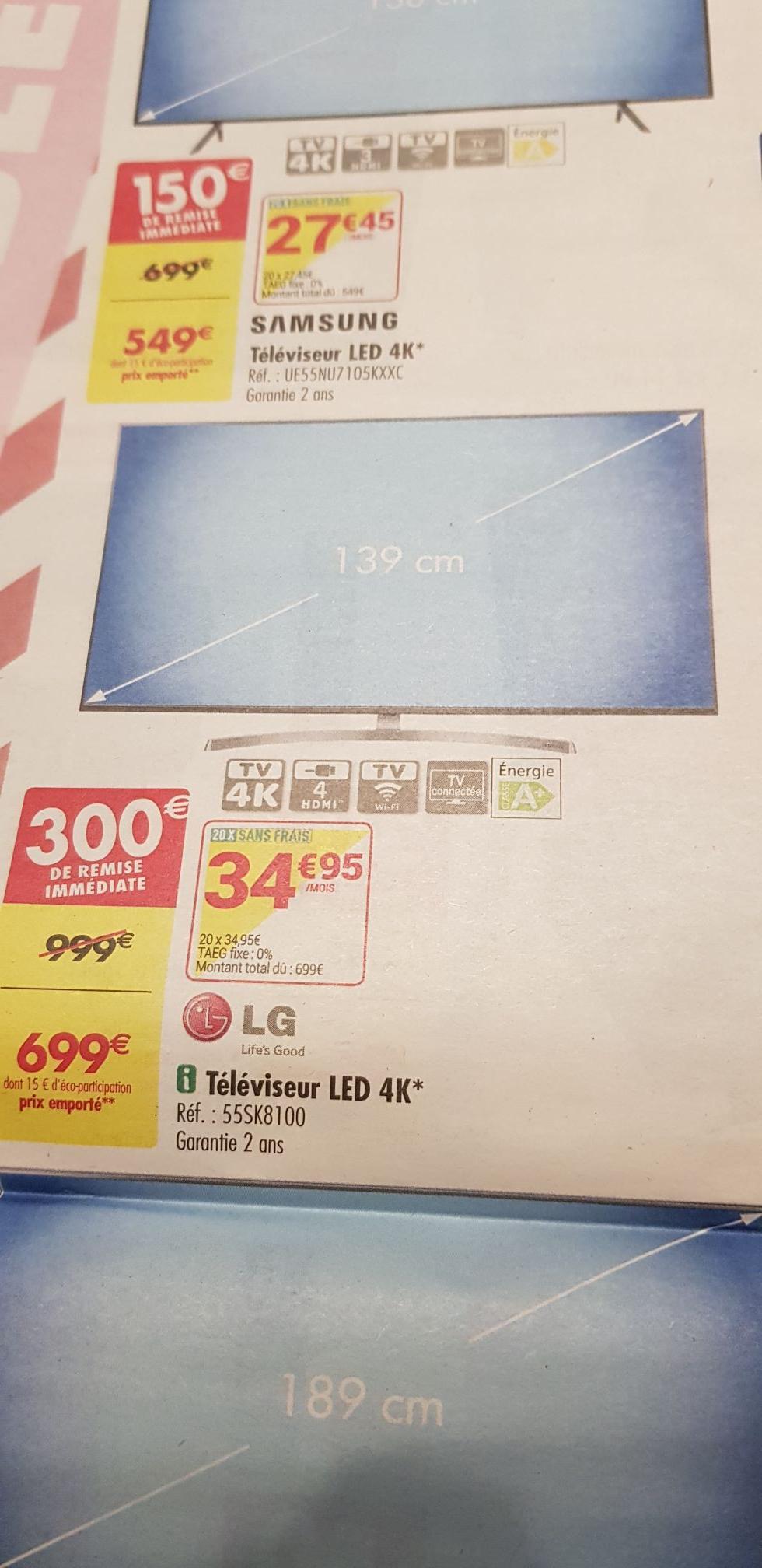 "TV 55"" LG Nanocell 55sk8100 - 4k UHD - Venissieux (69)"