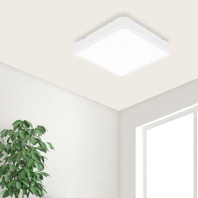 Plafonnier Yeelight Plafonnier LED Carré Simple - Blanc
