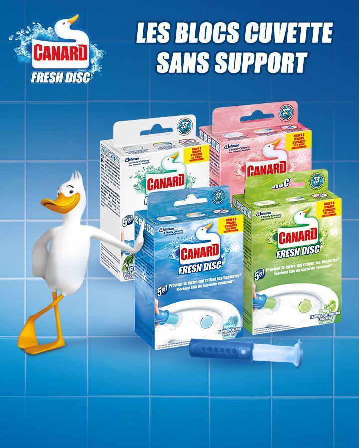 Boîtier Canard Fresh Disc - Différents parfums (via BDR + Shopmium)