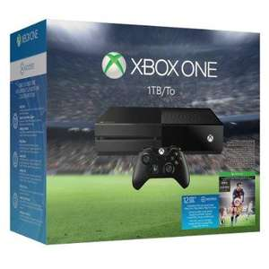 Pack console Microsoft Xbox One 1 To + FIFA 16 + 12 mois de Xbox Live + Gears of War: Ultimate Edition + Rare Replay + 12 mois d'EA Access