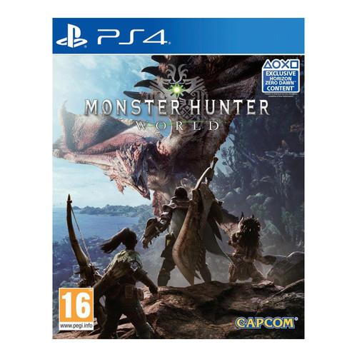 Monster Hunter World sur PS4