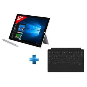 "Tablette 12"" Microsoft Surface Pro 3 - i5-4300U, 8 Go de Ram, 256 Go + Clavier type cover"