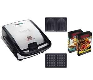 Croque-gaufre Tefal Snack Collection SW853D12