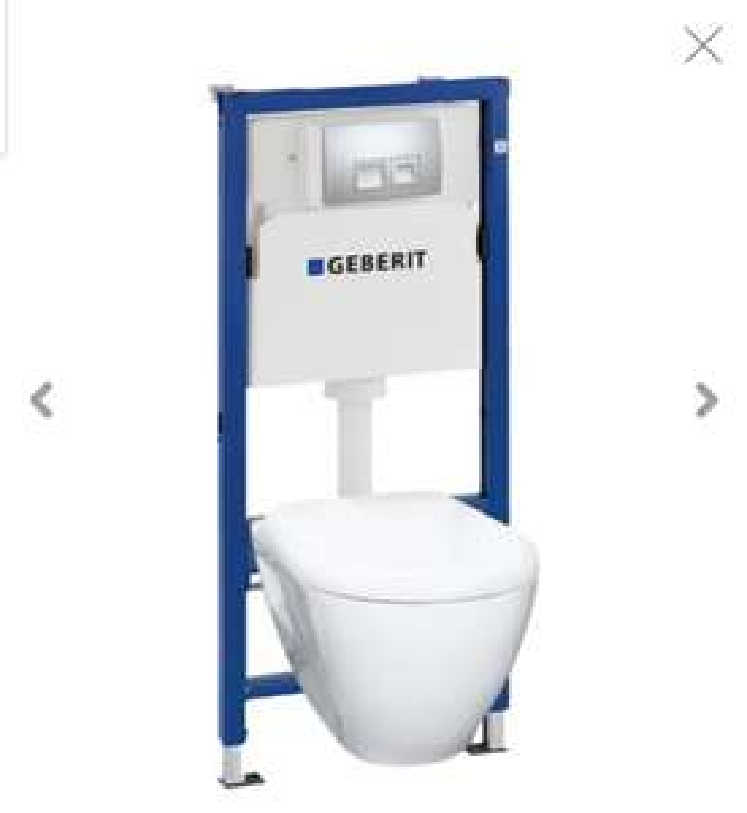 Toilette suspendue Geberit UP100 Solid