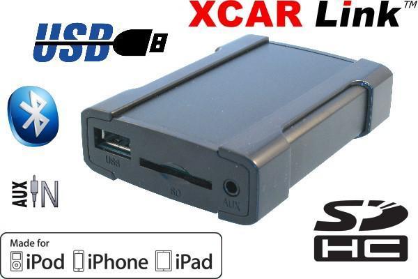 Boîtier Interface Xcarlink pour autoradio - USB/SD/AUX