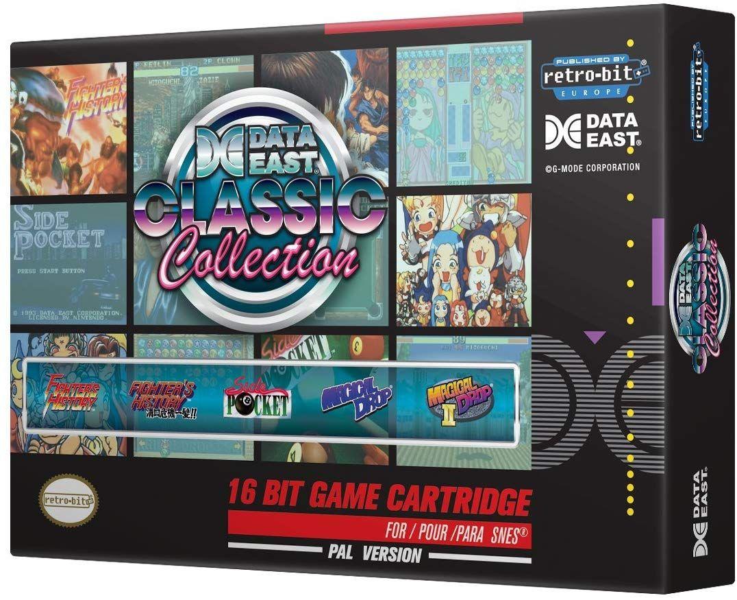 Cartouche Retro-Bit Data East Classic Collection: version PAL pour Nintendo SNES