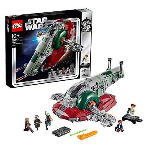 Jeu de construction Lego Star Wars 75243 - Slave I - Édition 20ème anniversaire