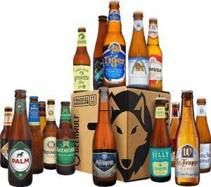 Pack de 16 bouteilles bières beerwulf best of